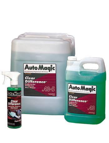 clear difference® стеклоочиститель/химчистка идеальная формула чистоты. бутылка с триггером!