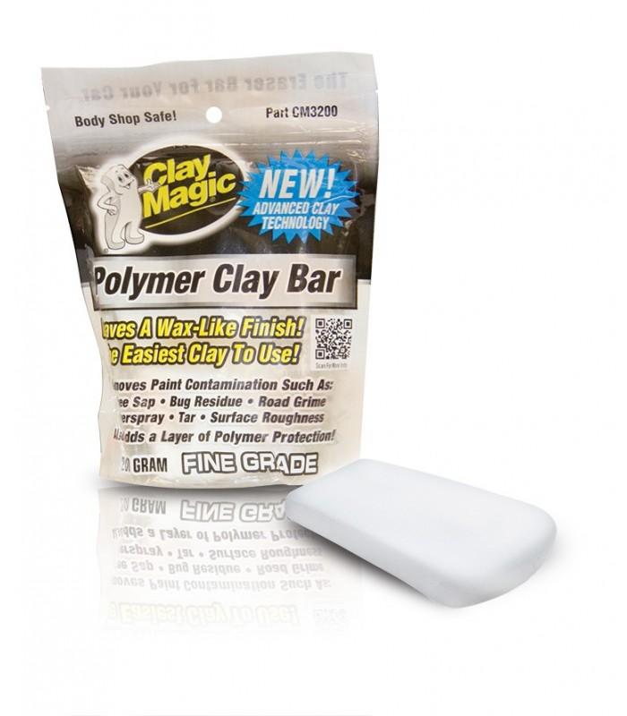clay magic polymer clay bar  new! супер мягкая и деликатная глина