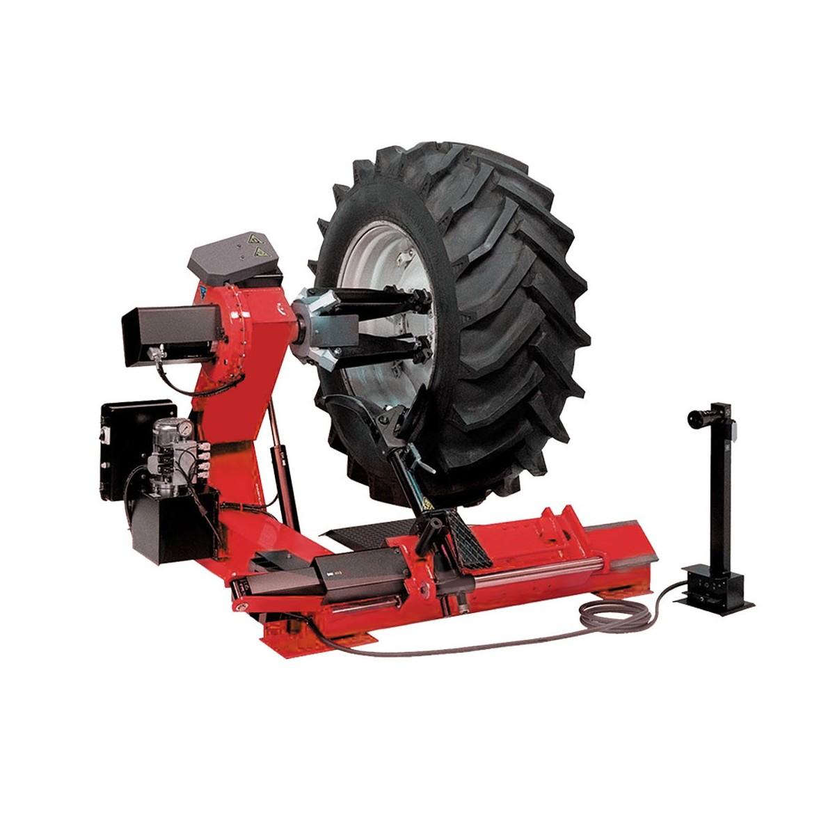шиномонтажный станок для грузовых автомобилей, диаметр дисков от 13 до 27, ширина колес до 780мм станок поставляется с маслом гидравлическим по специальной цене 30 руб. за комплект.