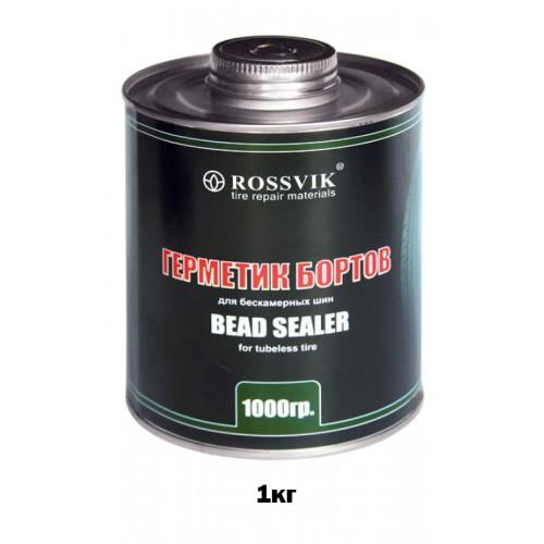 герметик бортов шин 1кг ( банка с кистью)