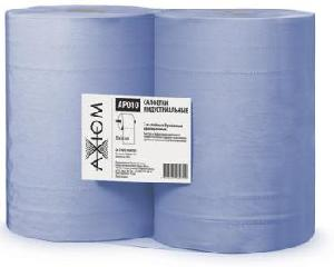 Салфетки индустриальные 2-х слойные бумажные (1000 листов)