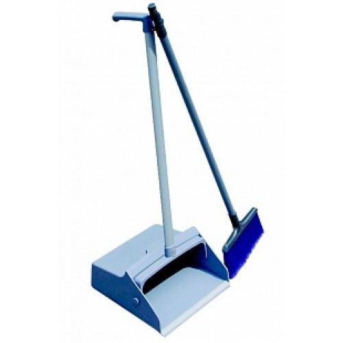 Совок-ловушка для мусора и щетка для подметания