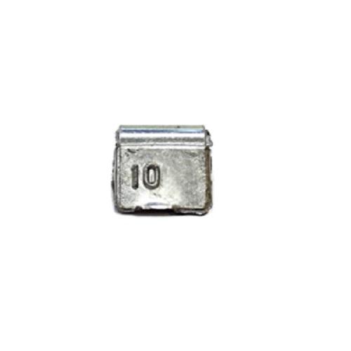 Груз балансировочный 10 грамм ALU (упак./100шт.)