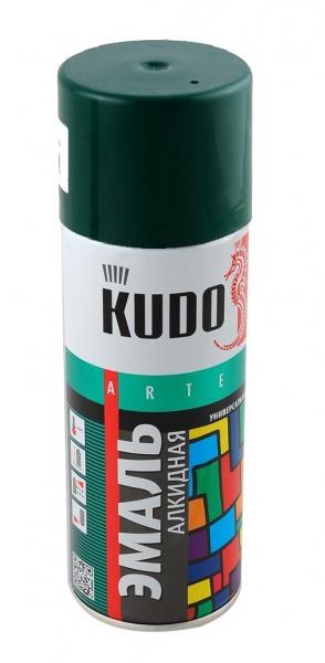 "Краска ""KUDO"" темно-зеленая (520 мл) (аэрозоль)"
