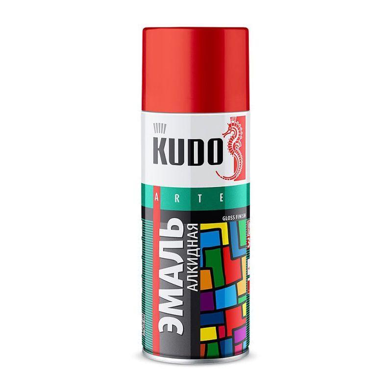 """Краска """"KUDO"""" темно-красная (520 мл) (аэрозоль)"""