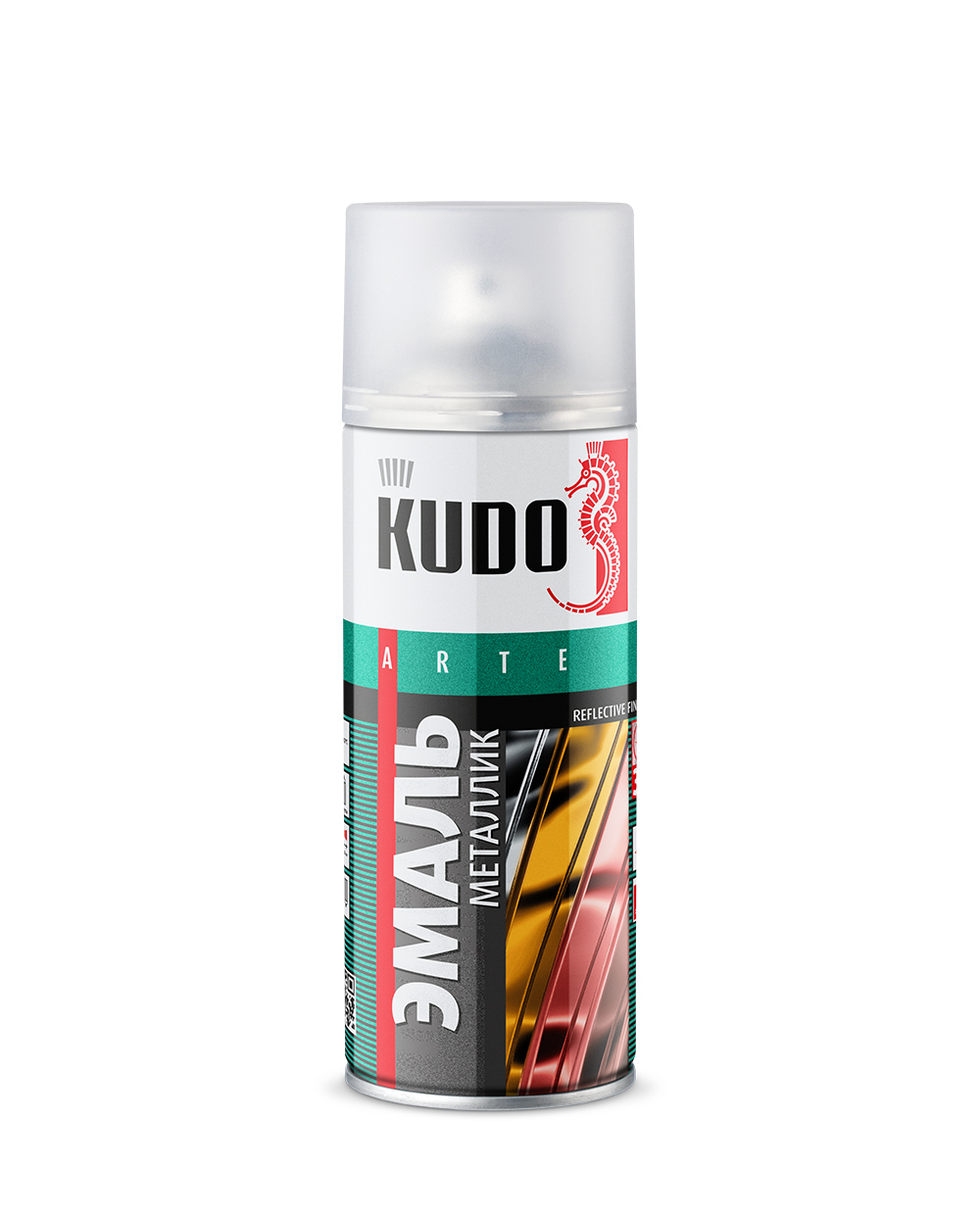 "Краска металлик ""KUDO"" алюминий (520 мл) (аэрозоль)"