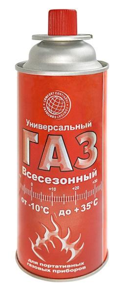 Газ универсальный всесезонный Россия