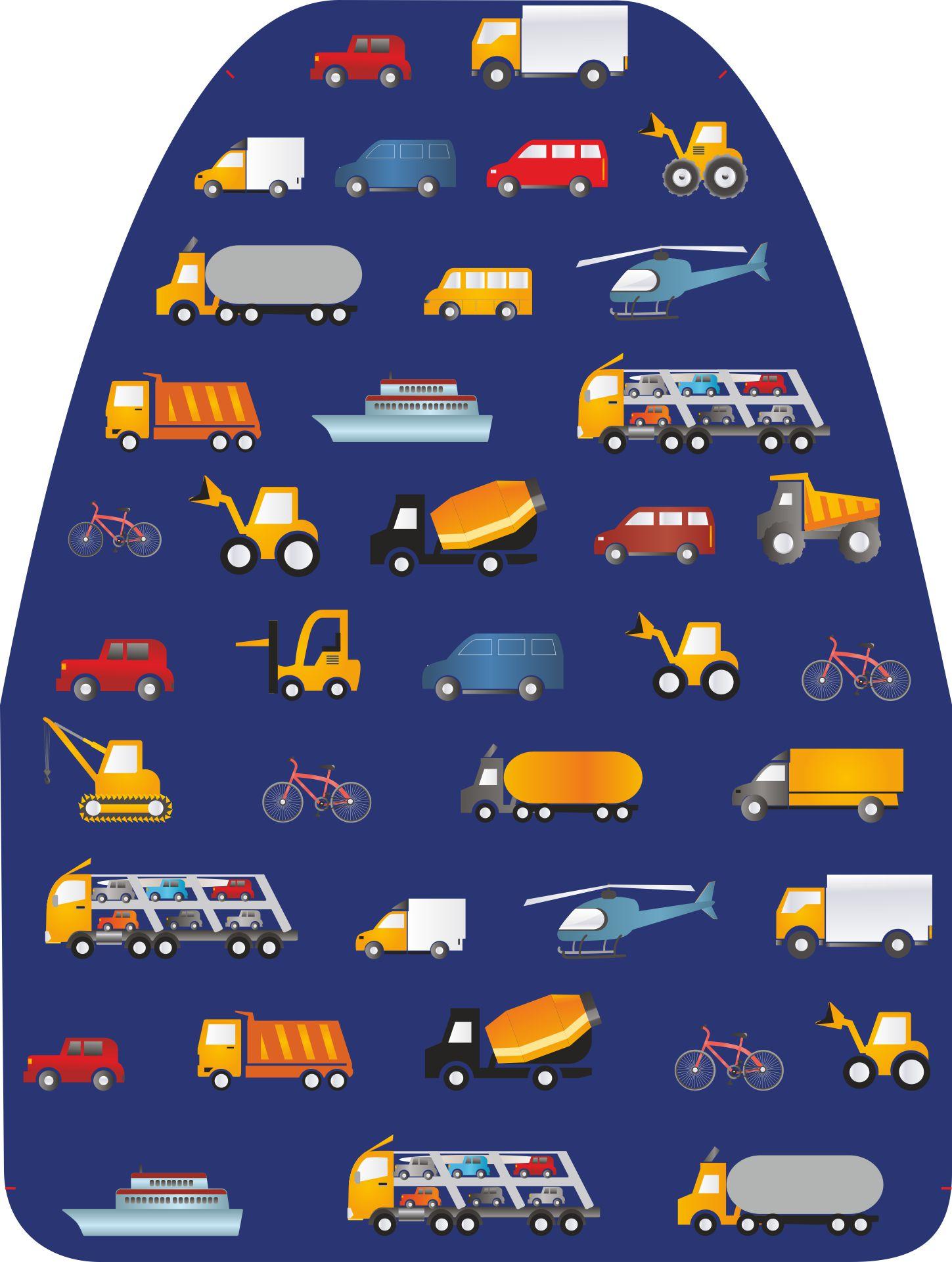 """Защита на переднее сиденье """"Машинки"""", размер 61*46 см"""