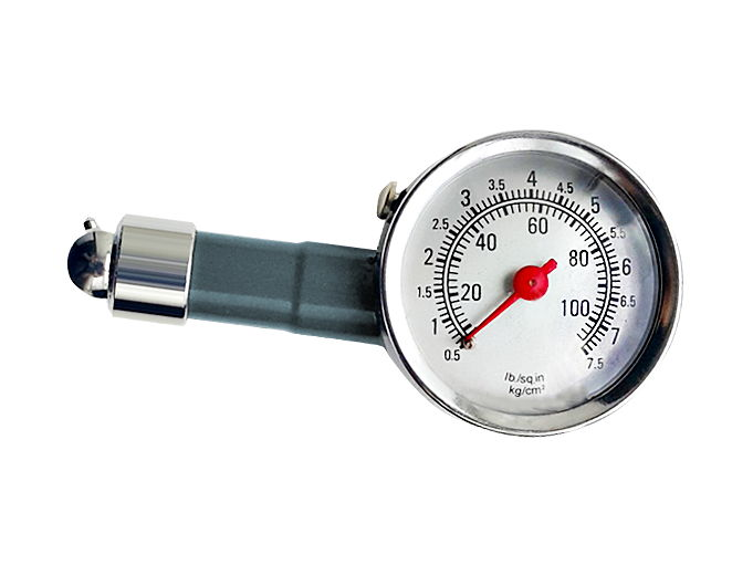 Манометр шинный металлический 0,5-7,5 кг/см2