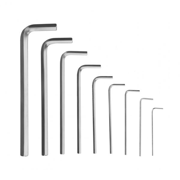 Набор шестигранных ключей, длинные (9 шт)