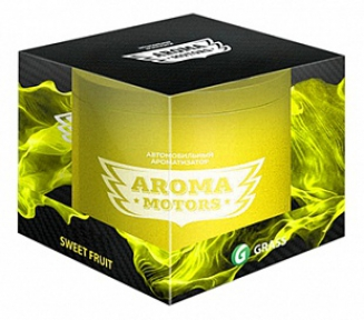 Ароматизатор,Банка, «Aroma Motors» SWEET FRUIT