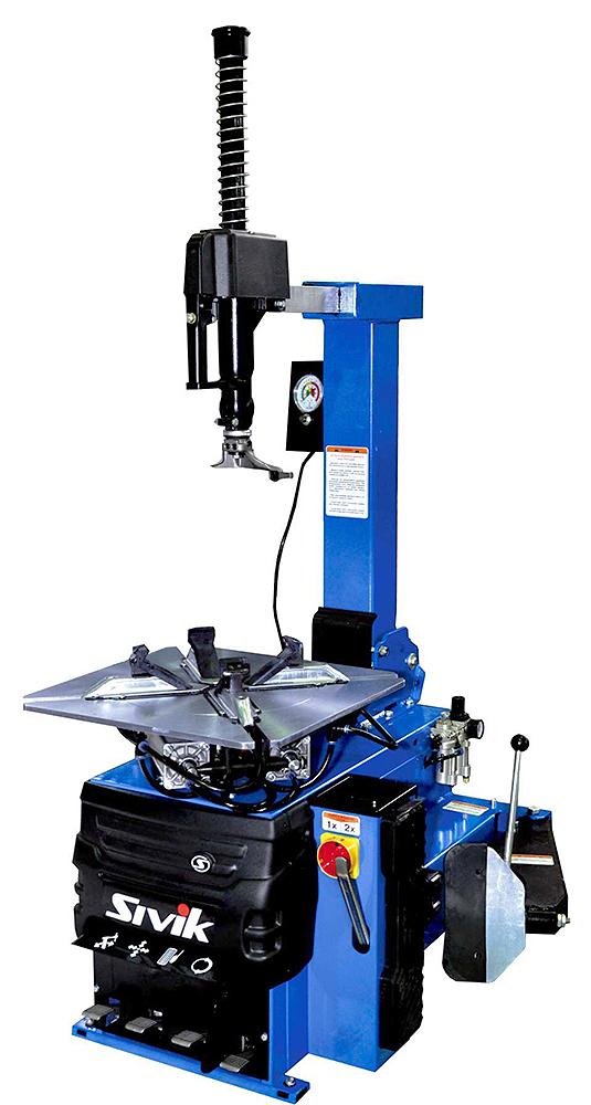 """Автоматический шиномонтажный станок, диаметр дисков от 11"""" до 24"""", 220В, односкоростной стол"""