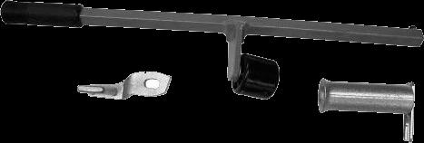 Устройство вспомогательное для прижатия борта шины (ручное)