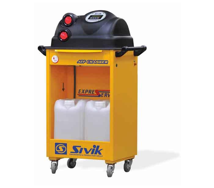 Установка для полной замены жидкости в автоматических коробках передач автомобилей, модель КС-119М