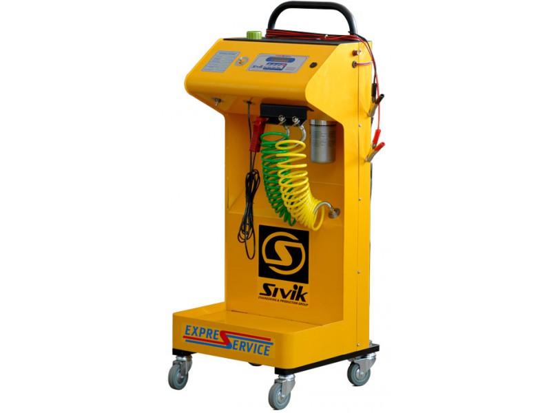 Установка для диагностики и  очистки топливных систем автомобилей, модель КС-120М