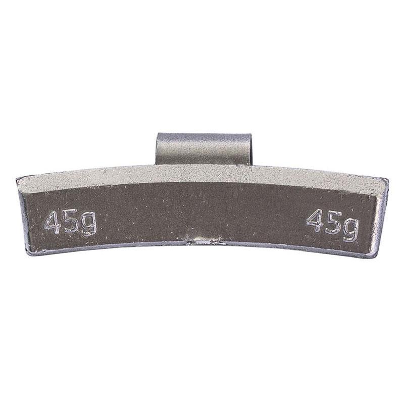 Груз балансировочный 45 грамм ALU (упак./100шт.)