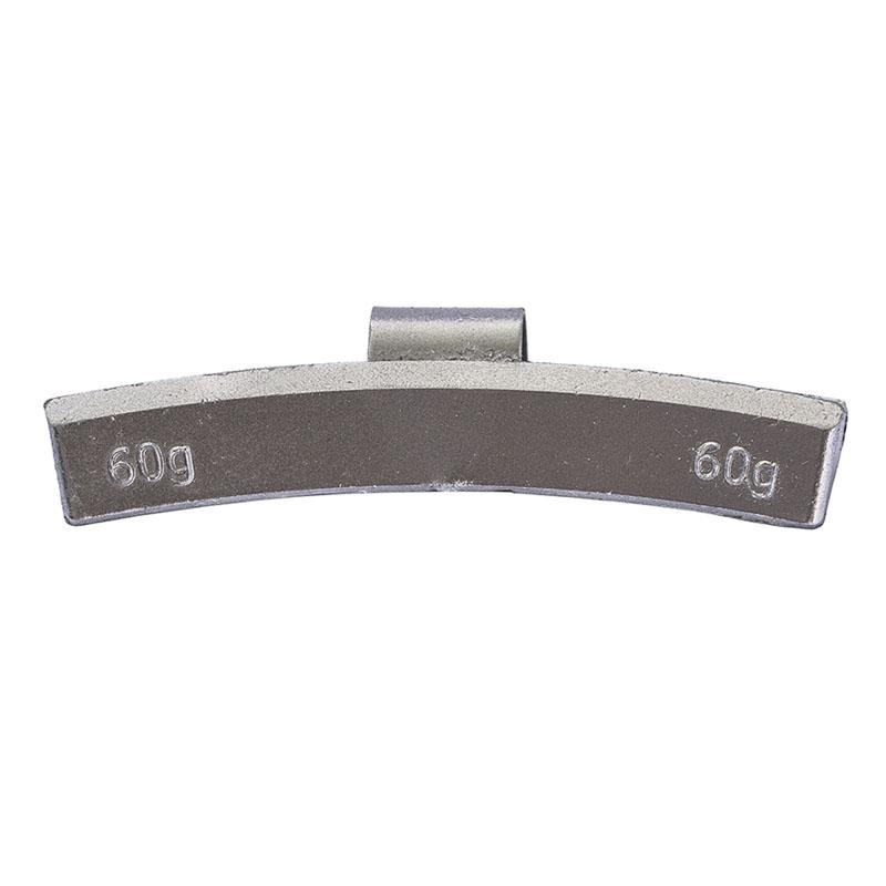 Груз балансировочный 60 грамм ALU (упак./100шт.)