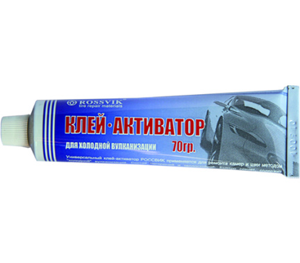 Клей активатор РОССВИК 070 гр. (туба) (Rossvik)