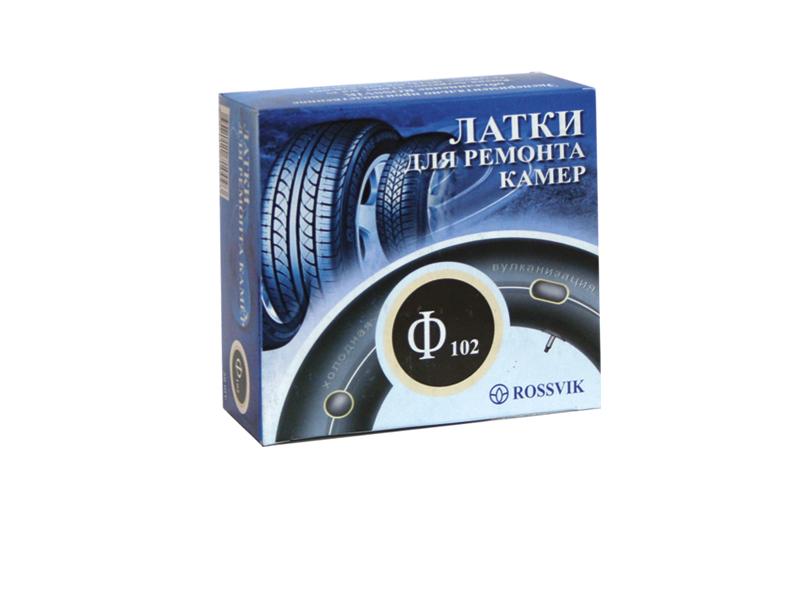 Латка для камер круглая 102мм, 20шт(Rossvik)