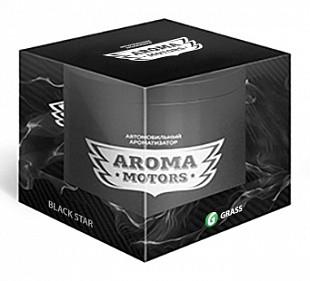 Ароматизатор,Банка, «Aroma Motors» BLACK STAR
