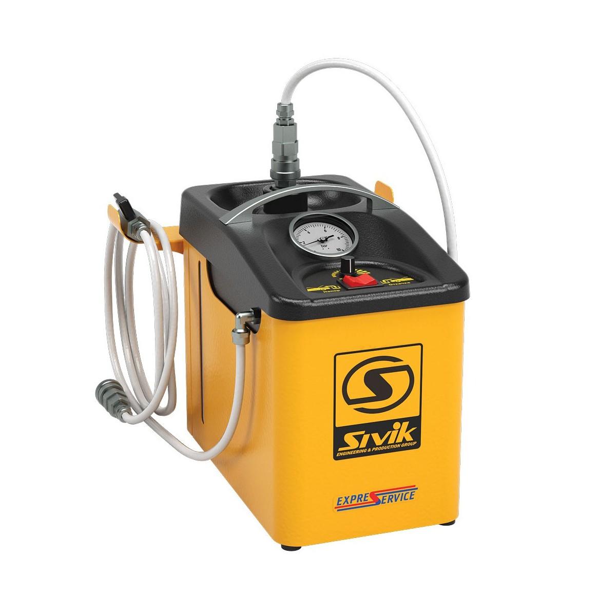 Установка для замены тормозной жидкости, модель КС-122
