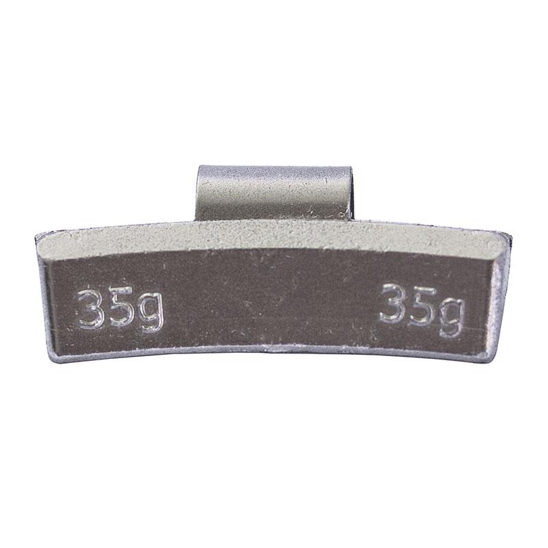 Груз балансировочный 35 грамм ALU (упак./100шт.)