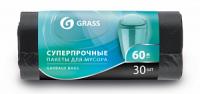 Мешок для мусора ПНД в рулоне 60л. 65*55 8 мкр. (черный) (рул. 30 шт)