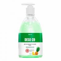 Дезинфицирующее средство на основе изопропилового спирта DESO C9 гель (ананас) (флакон 500 мл)
